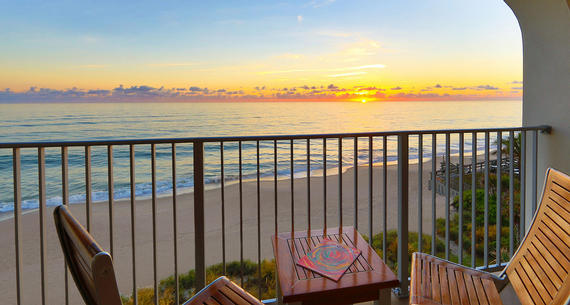 balcony overlooking vero beach