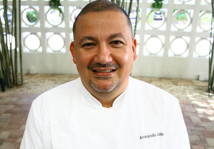 chef armando galeas at costa d'este